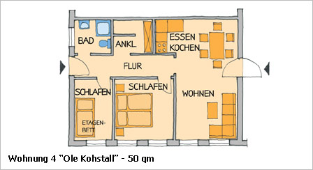 wohnung 4 ole kohstall. Black Bedroom Furniture Sets. Home Design Ideas